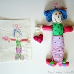 Custom Handmade Softies ~ GIVEAWAY! Inspired by your child's artwork!