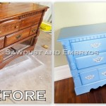 Tutorial: Painting Furniture {using a projector}