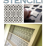 TUTORIAL: how to make your own stencil!
