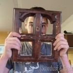 Bonus Project! {Picture Frames out of Furniture Doors}