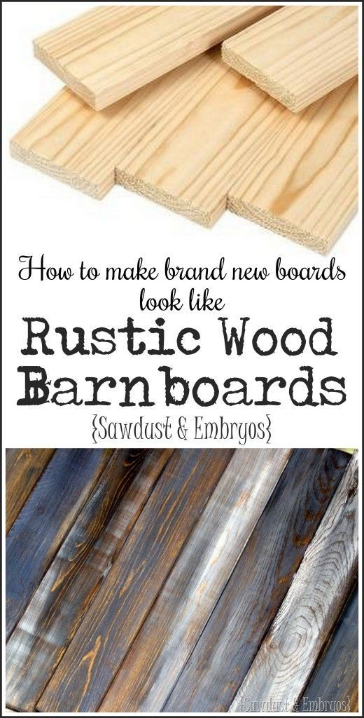 How to make your own barn boards diy style reality for Things to make out of barn wood