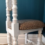 Decorative Chair Restoration {New Orleans Hall Chair}