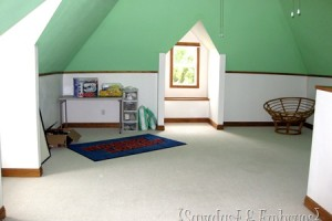 Tweaking the attic… and a new addition to the LR