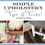 How to Upholster a Chair (Carving Foam)