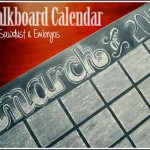 Dry Erase Chalkboard Calendar… Fun, Funky, Functional and FABULOUS!