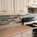 How to paint a backsplash!