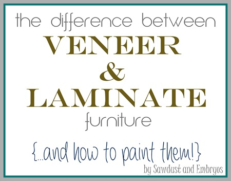 can you paint wood veneer furniture 2