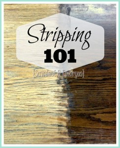 The ins and outs of STRIPPING! (Stripping furniture 101) Reality Daydream