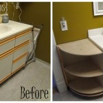 PROGRESS: Extending the Bathroom Vanity and Building a Butcher Block Counter!