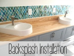Backsplash Installation {Reality Daydream}