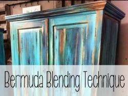 Bermuda Blending Painting Technique
