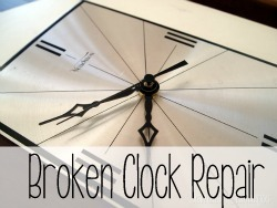 How to fix a broken clock