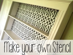 How to make your own Stencil