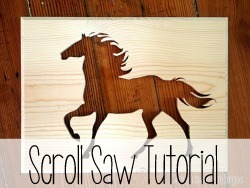 In-depth Tutorial on using a scroll saw!