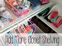 Add More Closet Shelving