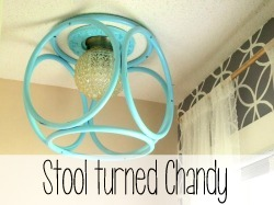 Stool Turned Chandy