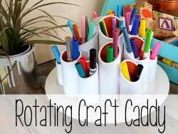 Rotating Craft Caddy {Reality Daydream}