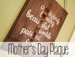 Sentimental Gift Idea for Mother's Day (or anytime!)