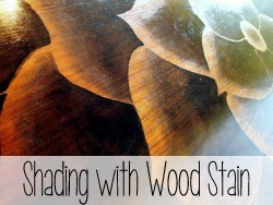 TUTORIAL- Shading with Wood Stain Technique