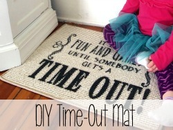 DIY Time-Out Mat