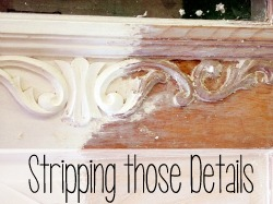 Tutorial on stripping those nooks and crannies! {Reality Daydream}