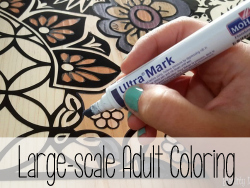 Large Scale Adult Coloring