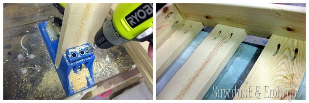 Using a Kreg Jig to build toddler beds! {Sawdust and Embryos}