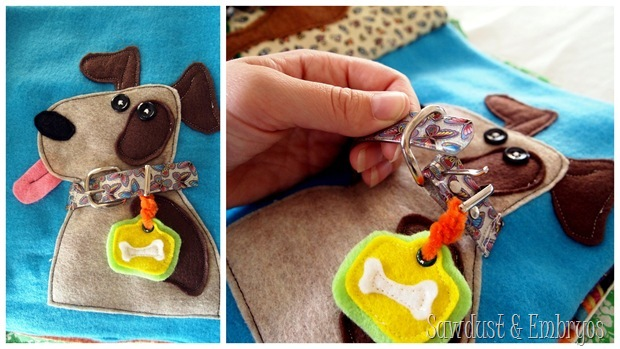 Adorable ideas for quiet book pages