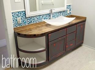 Bathroom {Sawdust and Embryos}
