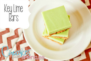 Key Lime Bars {Cupcakes with Sprinkles}