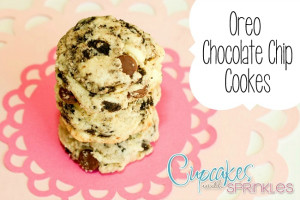 Oreo Chocolate Chip Cookies