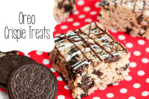 Oreo Rice Krispy Bars Recipe