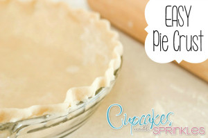 Pie Crust {Cupcakes with Sprinkles}