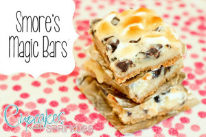 Smore's Magic Bars