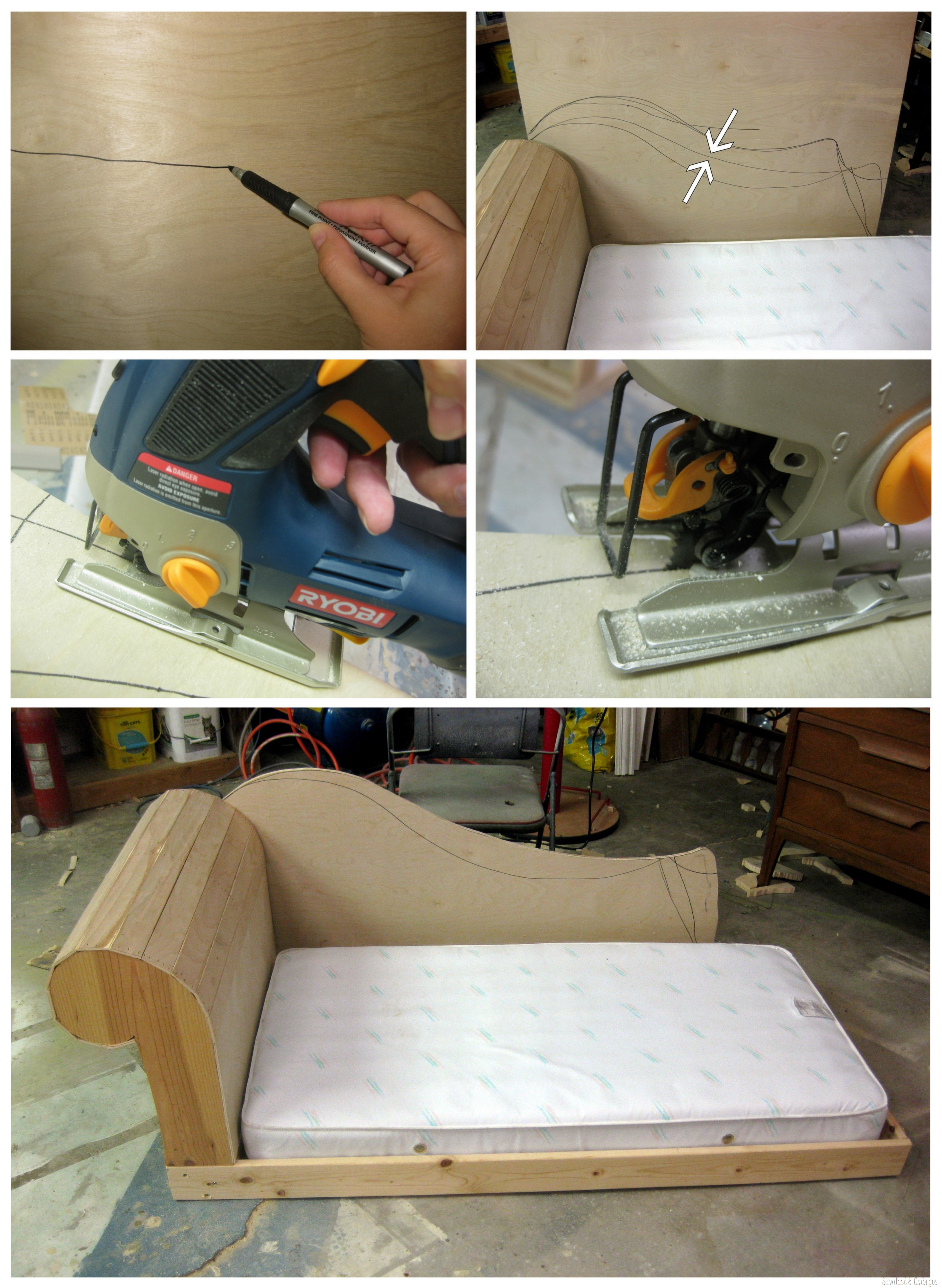 Bed That Looks Like A Couch diy toddler bed / fainting couch {part 2} - reality daydream