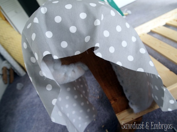Upholstered Toddler Beds that look like mini fainting couches! {Sawdust and Embryos}