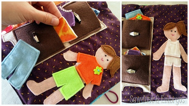 Very cute ideas for quiet book pages (2)