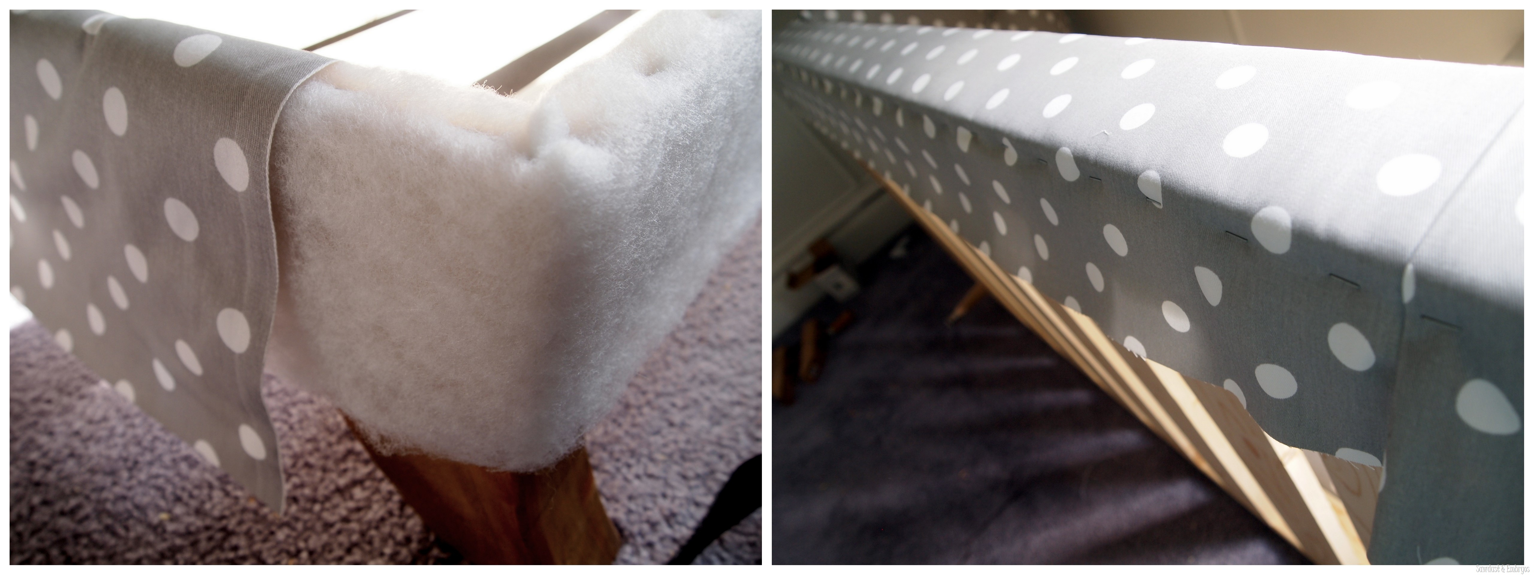 Toddler Bed Fainting Couch Tufting Upholstery