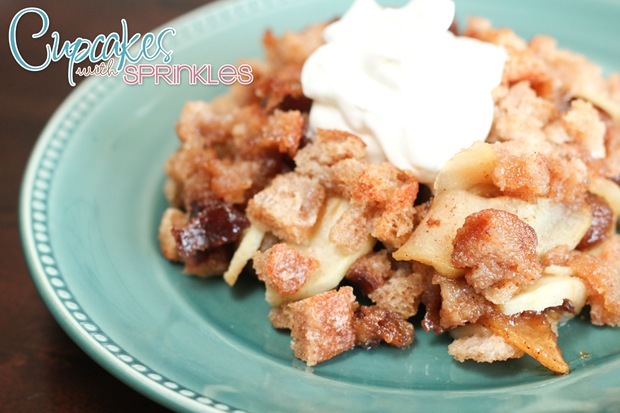 Apple Brown Betty Recipe {Cupcakes with Sprinkles}