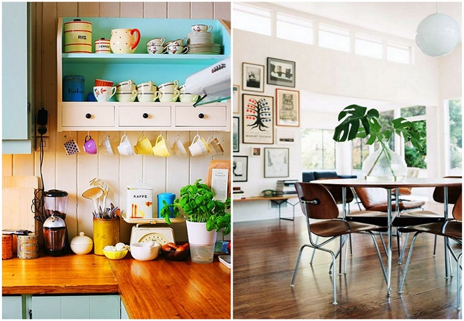 Incorporating white, wood, and greenery!