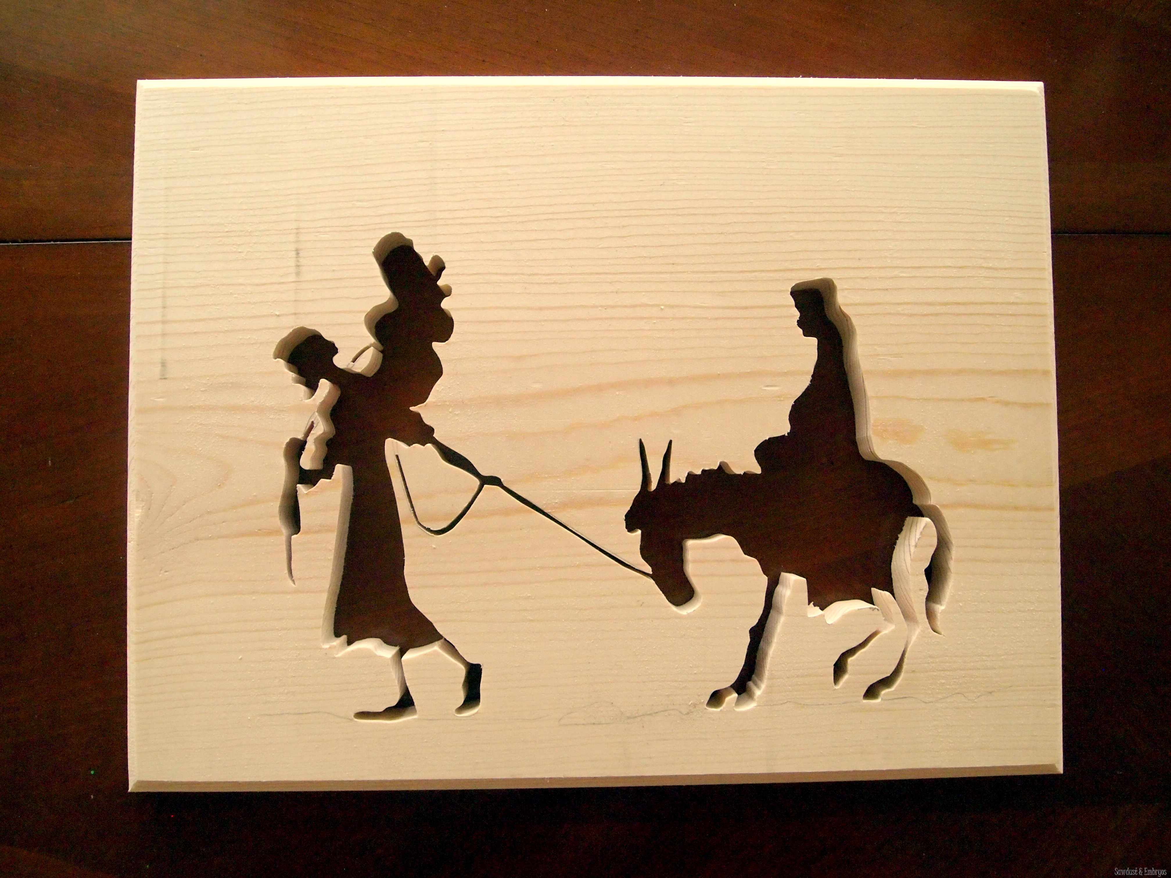 Creating Silhouette Art using a Scroll Saw - Reality Daydream