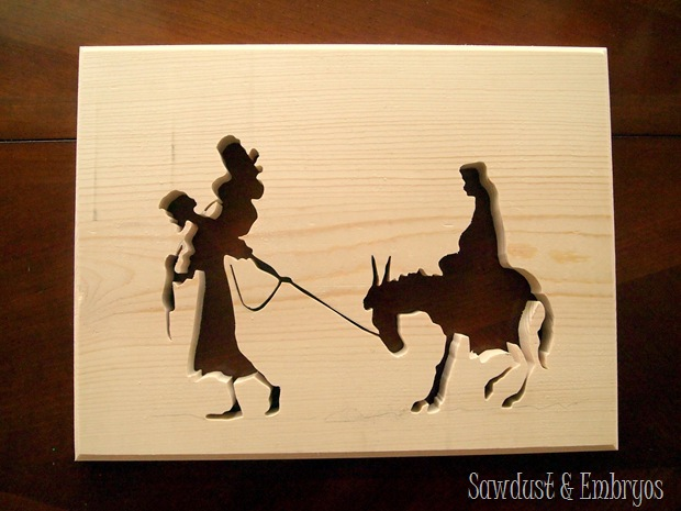 Learn how to make Silhouette Artwork using a Scroll Saw {Sawdust and Embryos}