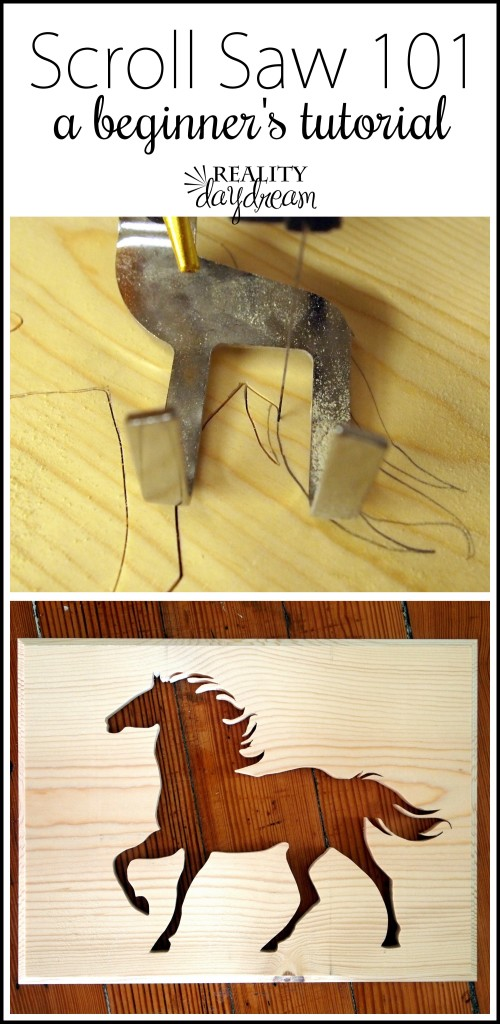 Learn how to use your scroll saw!