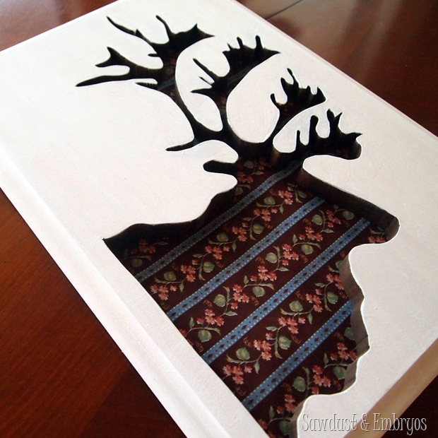Tutorial~ Using a Scroll Saw to create Silhouette Art {Sawdust and Embryos}