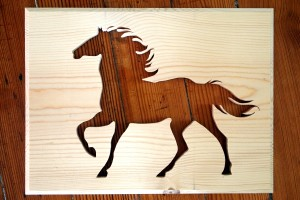 Creating Silhouette Art using a Scroll Saw