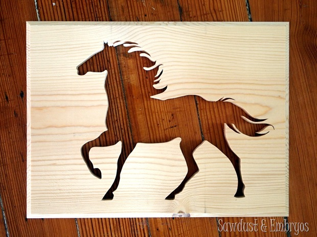 Using a Scroll Saw to create simple Silhouette Artwork