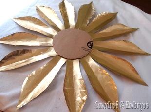 DIY Starburst Mirror Tutorial {Sawdust and Embryos}