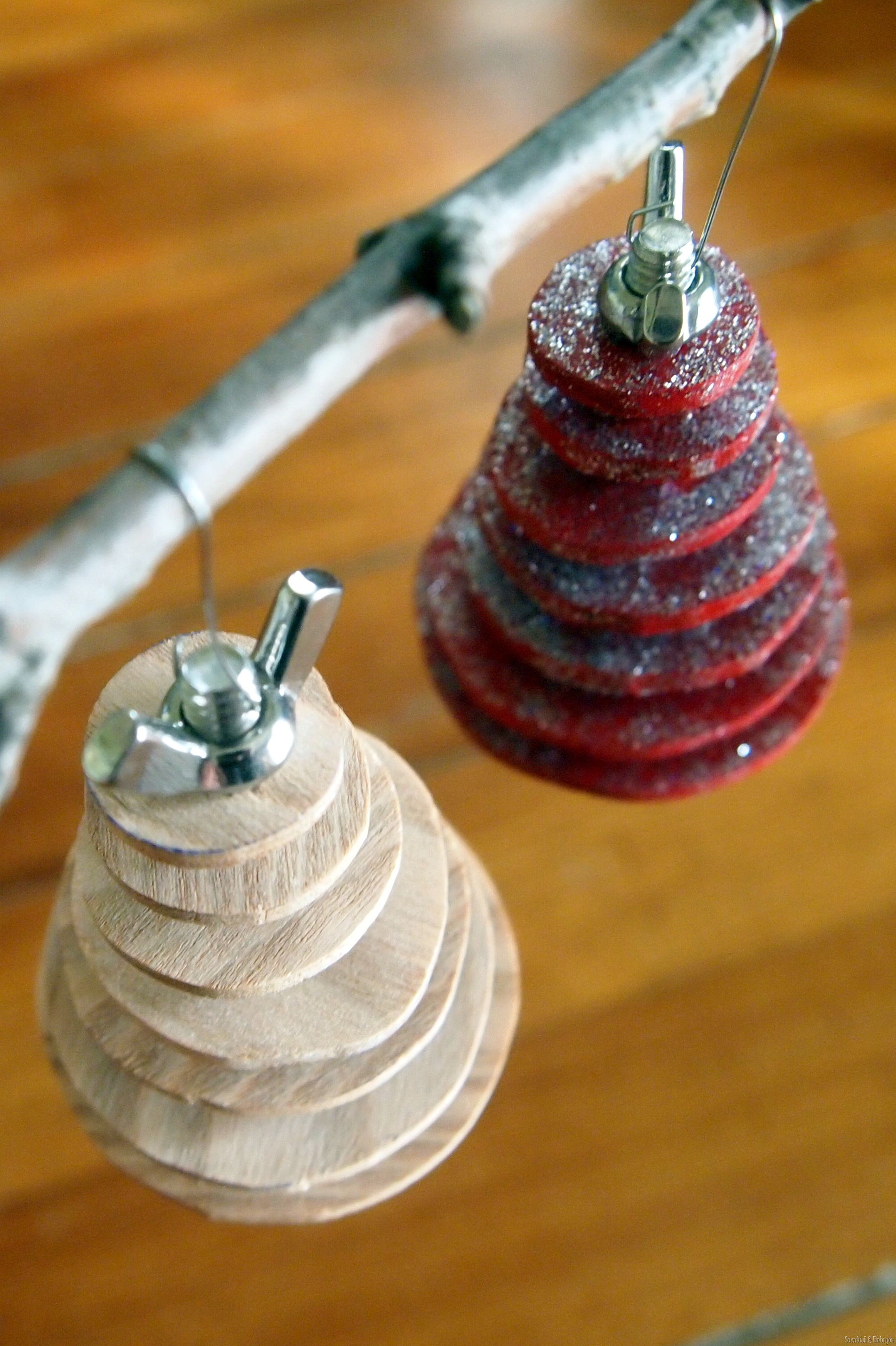 Industrial Christmas Tree Ornament Completely
