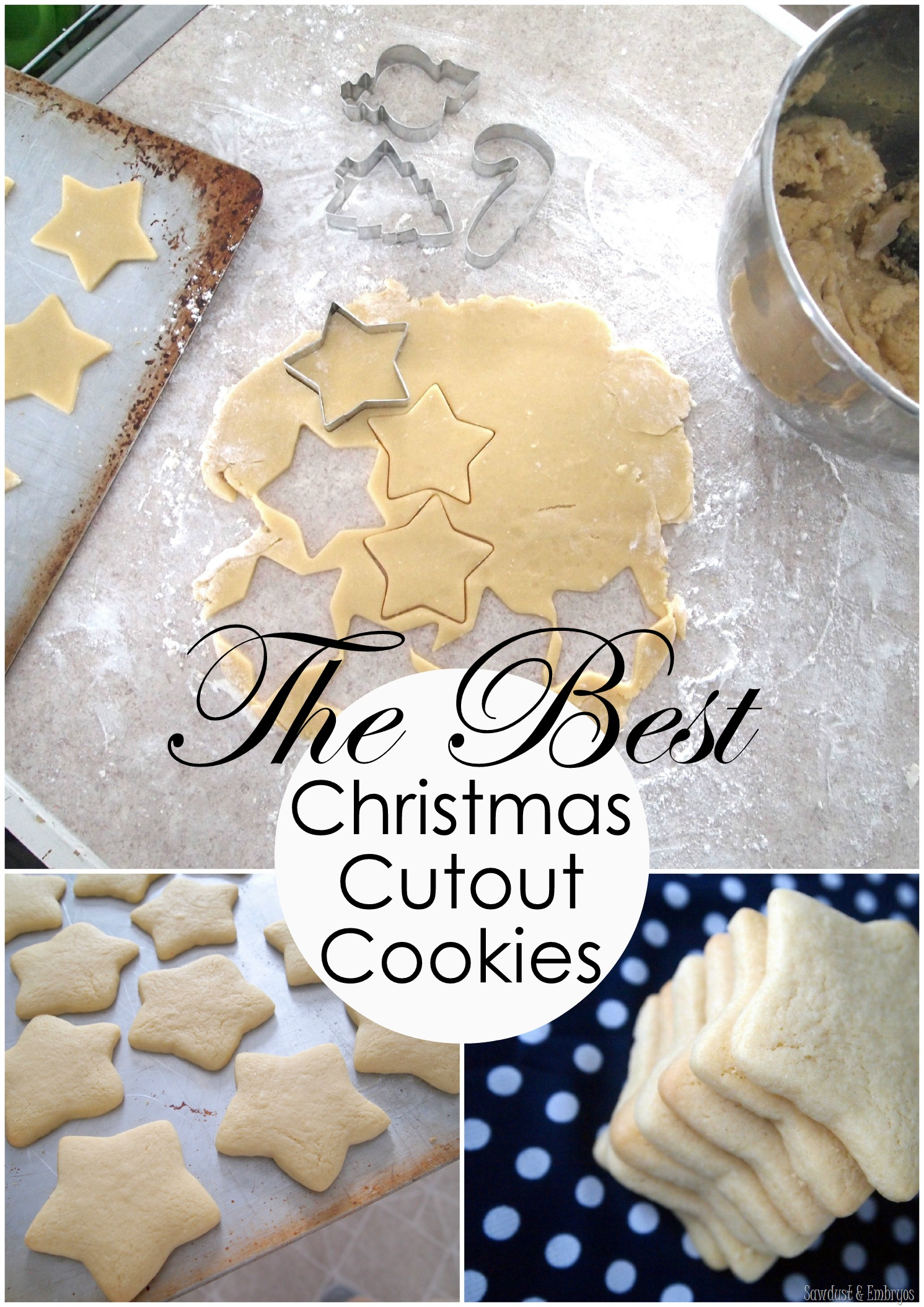The Most Perfect Christmas Cut Out Cookies