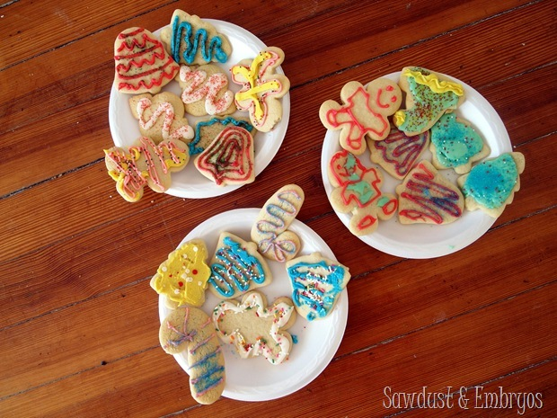 Sugar Cookie Cut-out Recipe {Sawdust and Embryos}